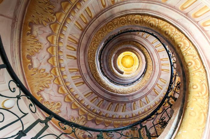 Melk Abbey Staircase:  Melk, Austria