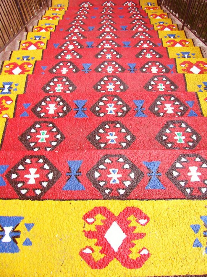 """pirot's Carpet"" In Belgrade, Serbia"
