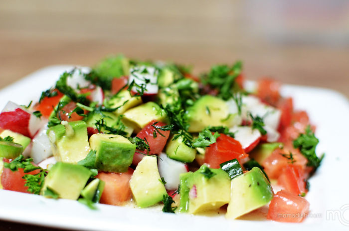 Vegetable Salad With Avocado