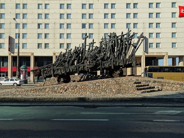 Tribute For Victims Of Soviet Army, Warsaw, Poland