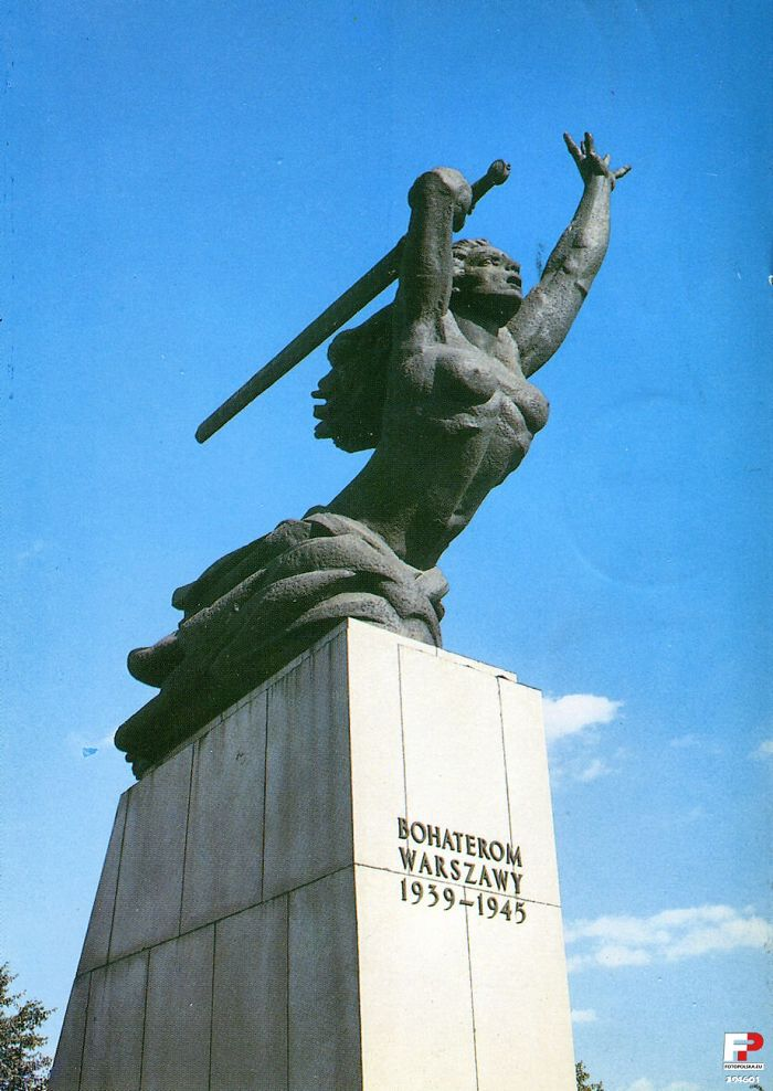 Nike, Warsaw Heroes 1939 - 1945 Memorial, Warsaw - Poland