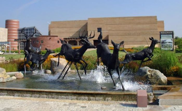 Eiteljorg Museum, Running Deer By Kenneth R. Bunn