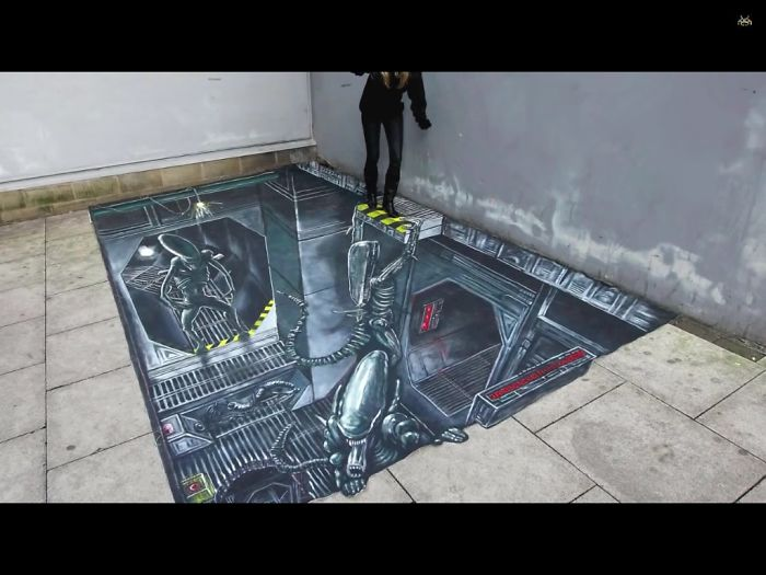 20 Awesome 3d Street Art Illusions