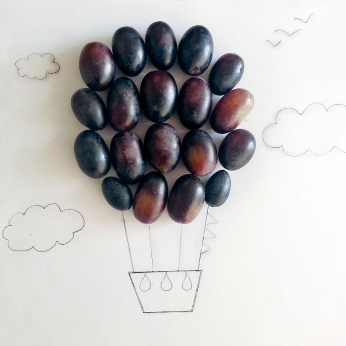 Grape Air Balloon
