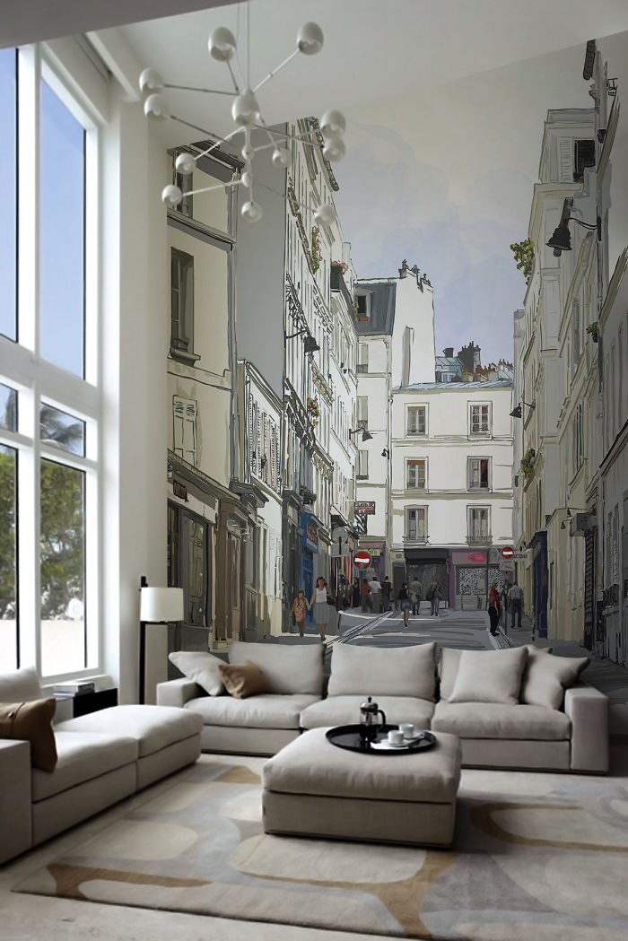 20 Photorealistic Wall Murals That Will Make You Say 'wow'