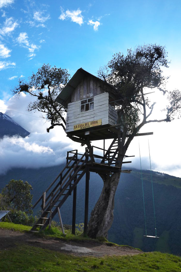 Post the most beautiful treehouses from all over the world - Casas de arbol ...
