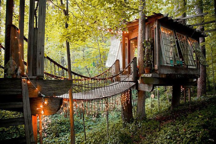 Treehouses From All Over The World