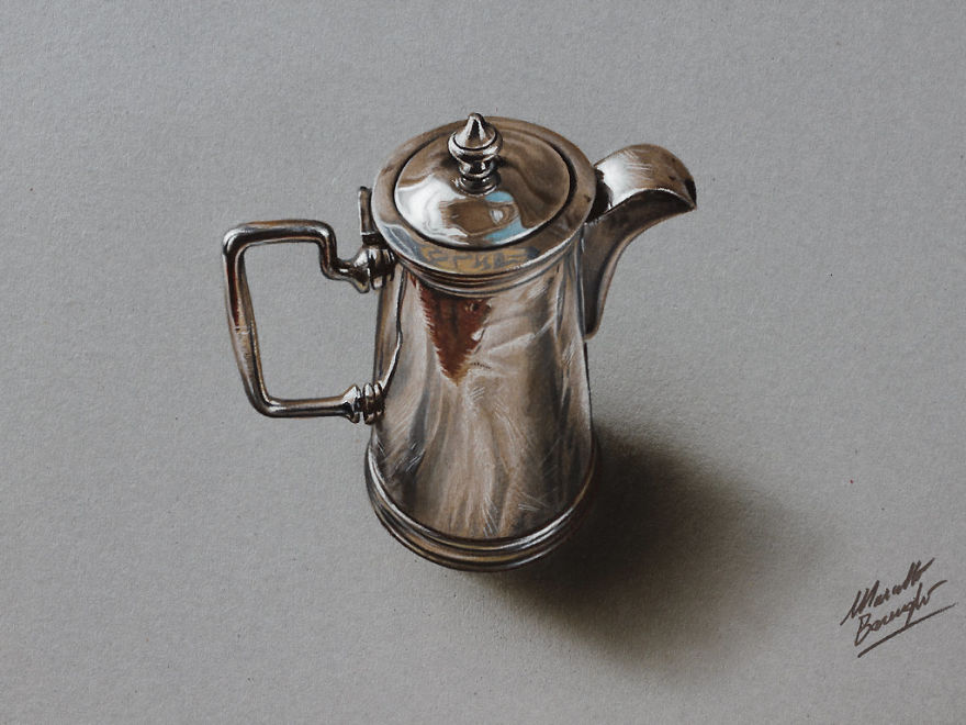 More Hyper-Realistic Drawings By Marcello Barenghi
