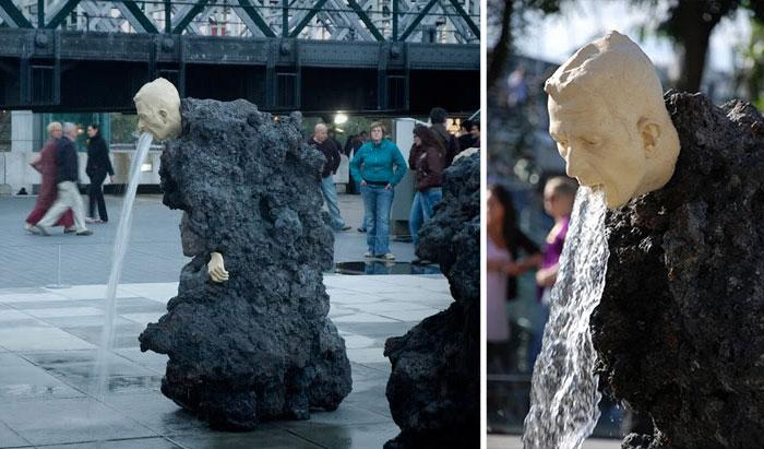 Vomiting Fountain, London, Uk