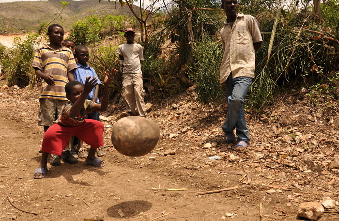 Gord Bowling In Haiti By Josh Melin