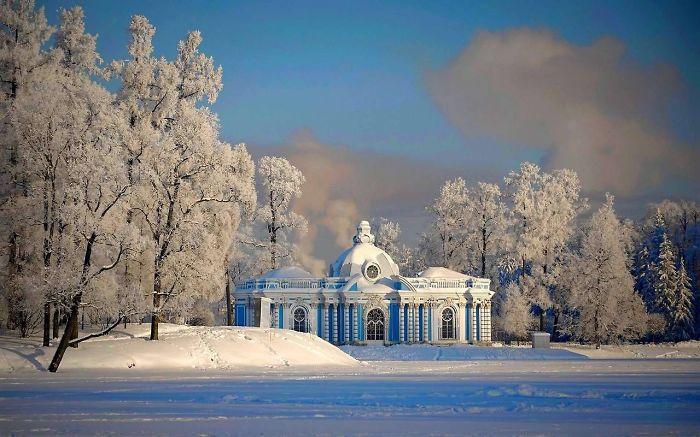 Tsarskoye Selo,st.petersburg, Russia 1755-1756, By Francesco Bartolomeo Rastrell