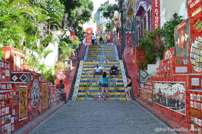 Escadaria Da Lapa - Rio De Janeiro