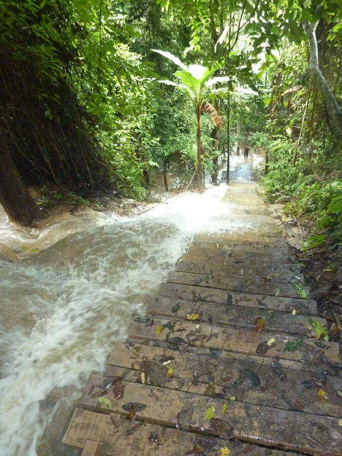 Waterfall At Luang Prabang - Laos