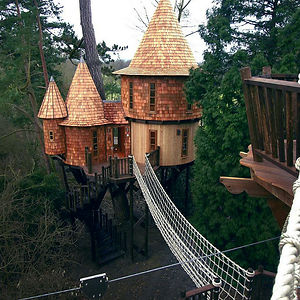 Living The Highlife Treehouse In Uk