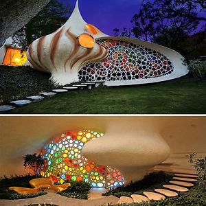 Nautilus: Giant Seashell House
