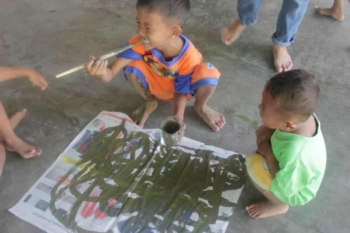 #51. Painting In Indonesia