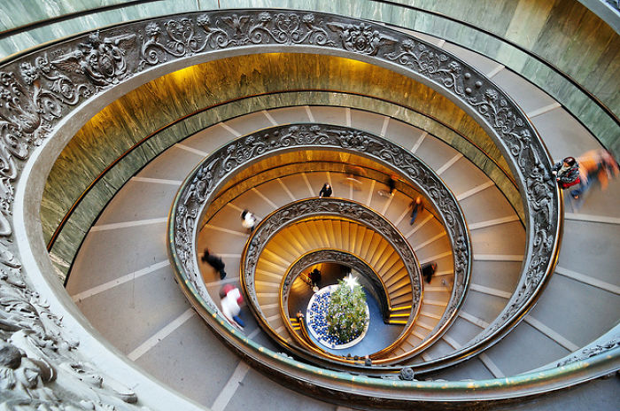 Vatican Museum - Spiral Staircase