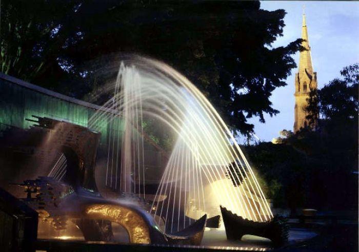 James Cook Memorial Fountain. Newcastle N.s.w. Australia.