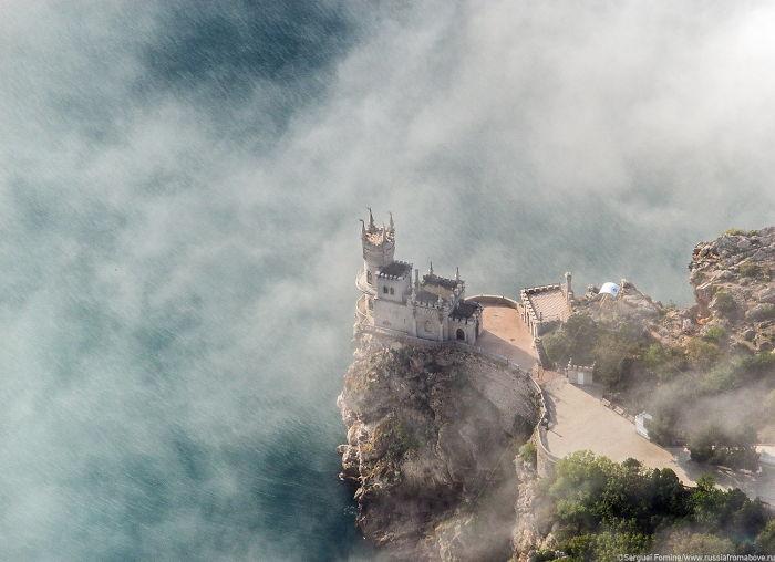 Swallow's Nest In Yalta, Crimea