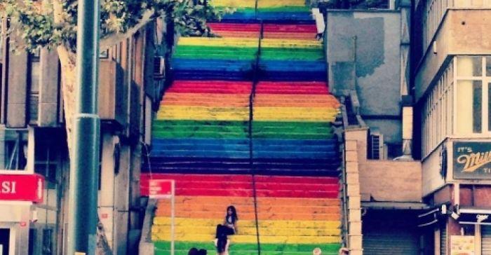 Gezi Park Stairs - Cihangir, Istanbul