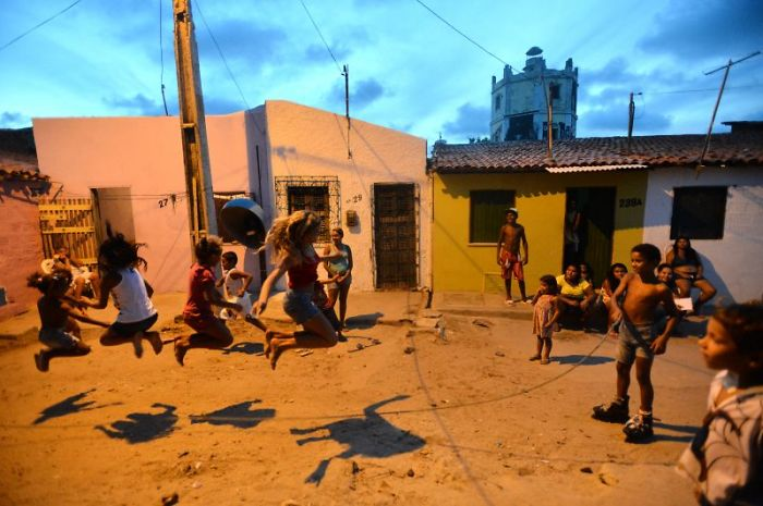 Favela, In Fortaleza, Brazil. By: Monique Renne