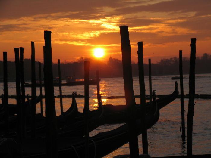 Sunrise In Venice,italy