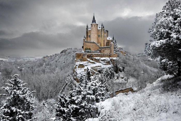 El Alcazr De Segovia, Spain