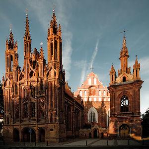 St. Anne's Church, 15th Century, Vilnius, Lithuania