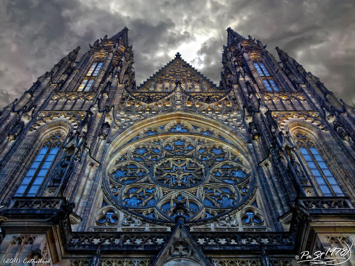The Stunning Cathedral Of St. Vitus In Prague
