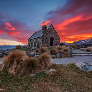 Church Of The Good Shepherd, Lake Tekapo, Canterbury, New Zealand
