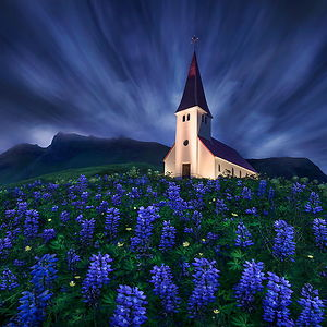 Church Of Vik, Iceland