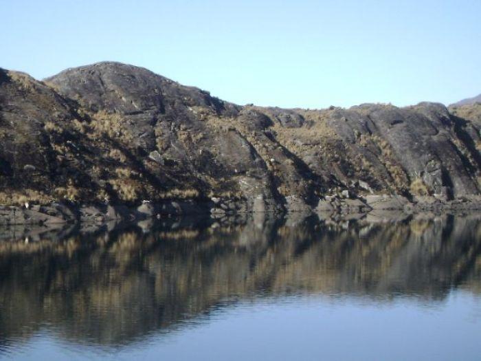 Lake Takesi, La Paz Bolivia - Strange Figures If You See The Cerros And Its Reflection