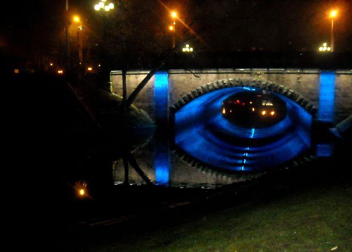 Bridge Near The Bastion Hill, Riga, Latvia