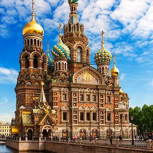 Church Of The Savior On The Spilled Blood (khram Spasa Na Krovi), St. Petersburg, Russia