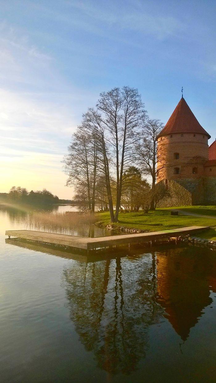 Lithuania. Trakai Island Castle.