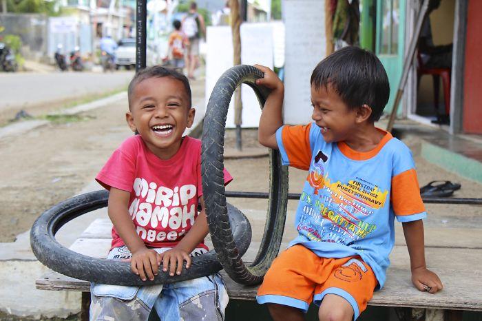 Children Of Labuan Bajo, Flores, Indonesia