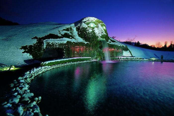 Swarovski Fountain, Austria