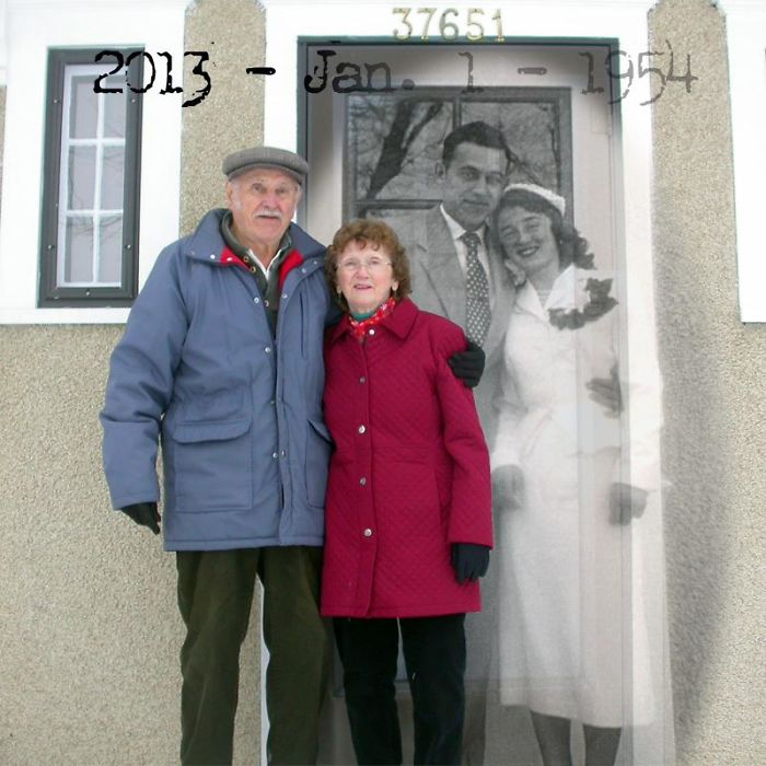Mom And Dad 60 Years Together