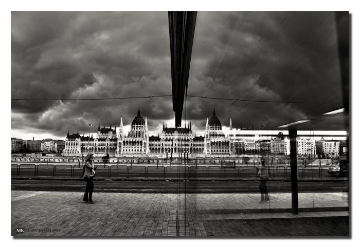 Parliament Building Of Budapest