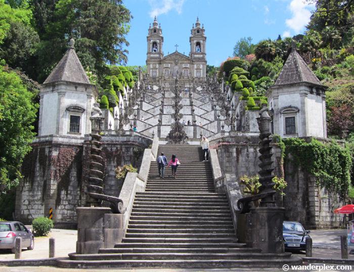 Bom Jesus Stairs Braga Portugal