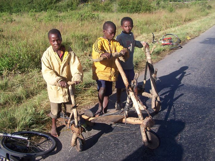 Wooden Scooters