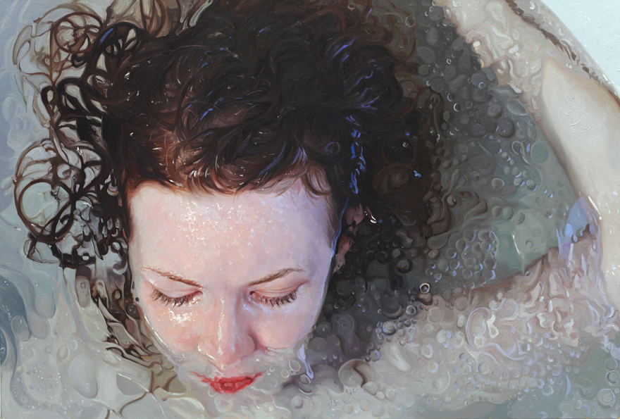 Hyper Realistic Paintings By Alyssa Monks Bored Panda - Artist creates stunning hyper realistic paintings of women