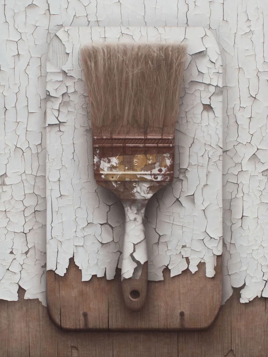 Hyperrealistic Oil Paintings By Patrick Kramer