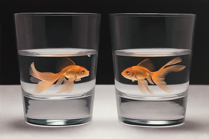 Hyperrealistic Oil Paintings By Patrick Kramer