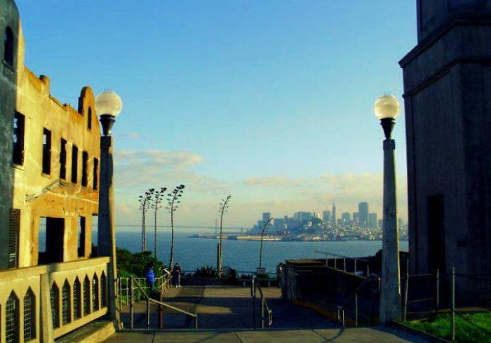 View On San Francisco From Alcatraz Island