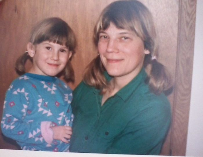My Mom And Me, Circa 1987 - Jordan Rose Steininger