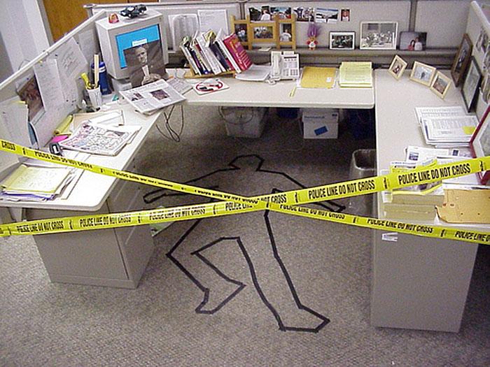 Crime Scene Prank