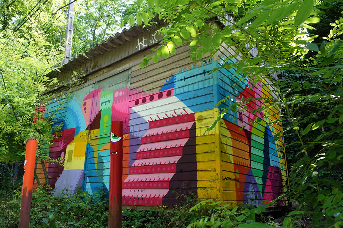 Street Art House In In Situ Art Festival