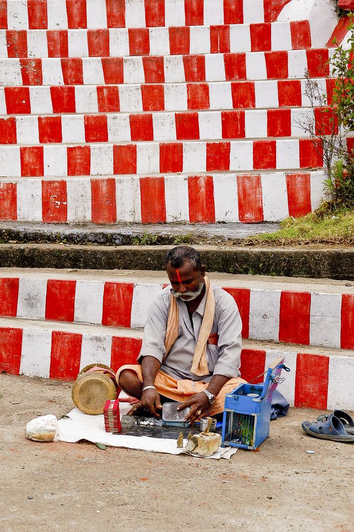 Street Vendor, Kodaikanal, India