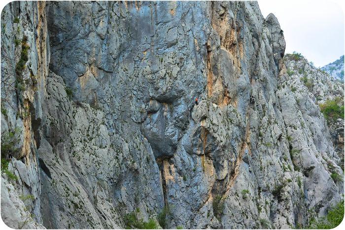 Climbers In Paklenica National Park, Croatia